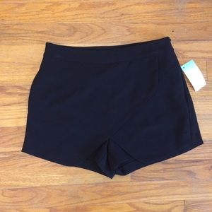 Asymmetrical Front Sexy Summer High-waisted Shorts